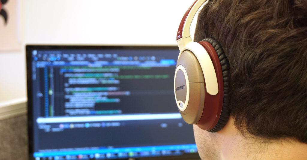 software ontwikkeling door Peter in ons competence center in Eindhoven